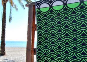 Toallas de playa de rizo
